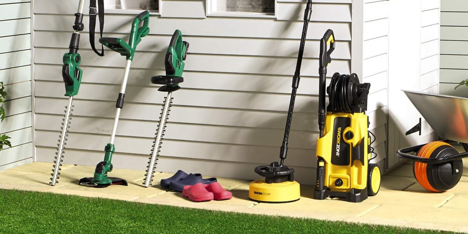 Aldi Workzone 2.2kw pressure washer