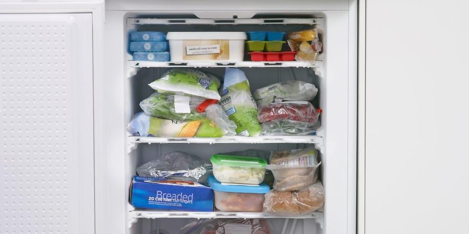 Built-in freezer