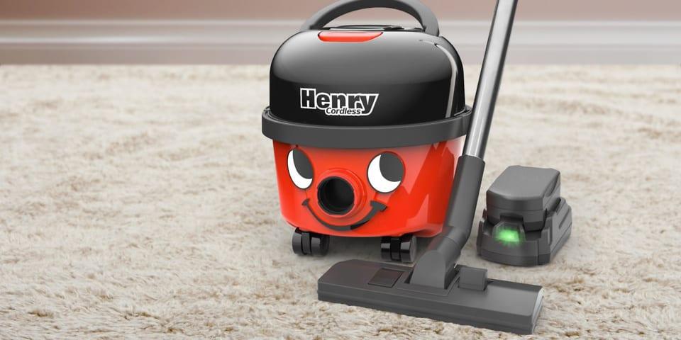 NUMATIC Henry Cordless Vacuum Cleaner