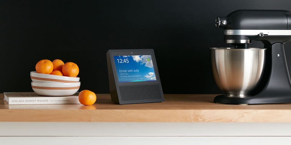 The Amazon Echo Show is real and it has a screen