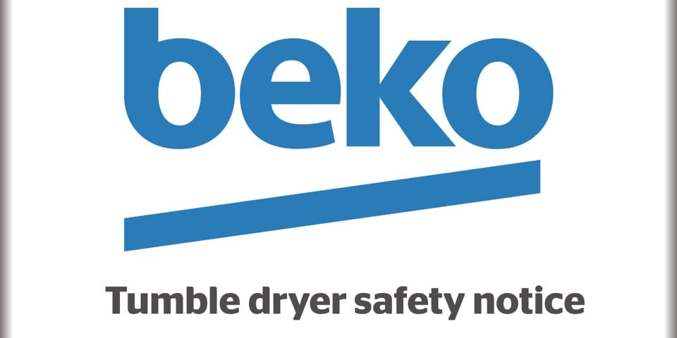 five beko and blomberg condenser tumble dryer models dryers made between may and november are affected