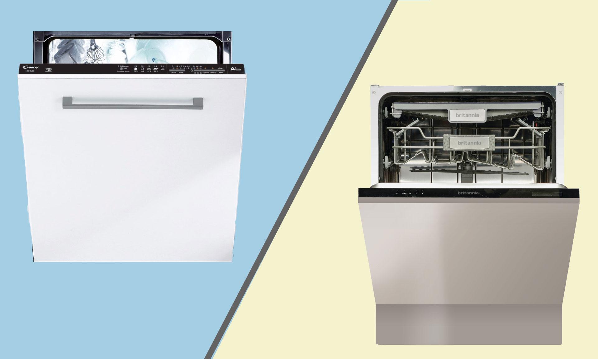 Candy and Britannia dishwashers