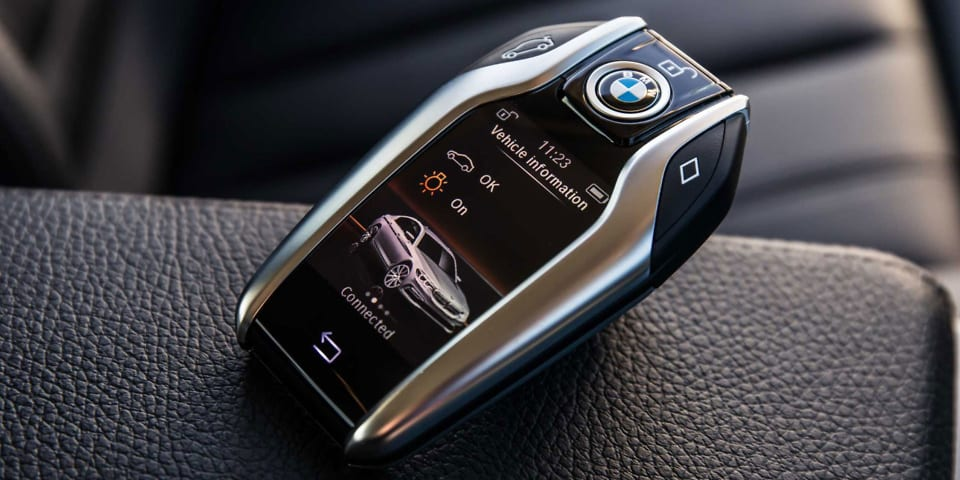 Video The Bmw You Can Drive With Your Key And Other