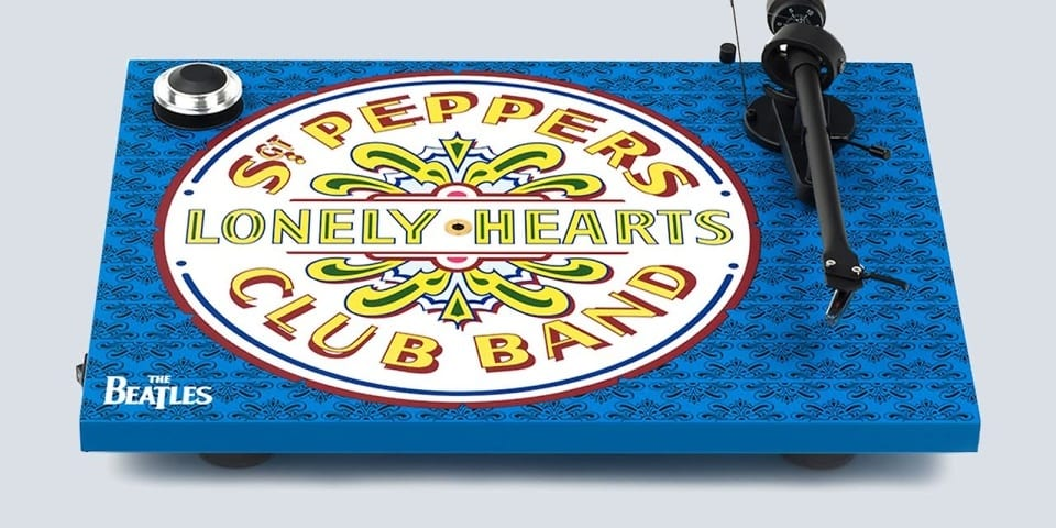 Unique Sgt Pepper turntables mark album's 50th anniversary ...