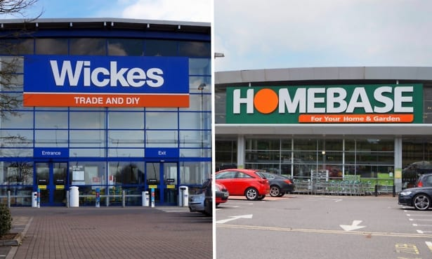 Wickes and Homebase