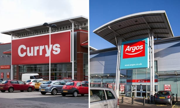 Currys PC World and Argos