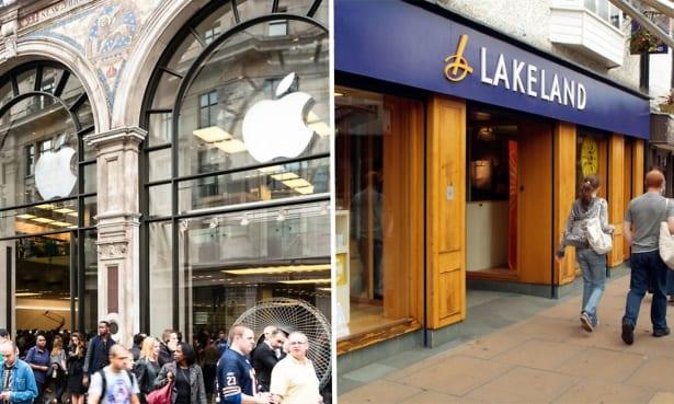 Apple and Lakeland