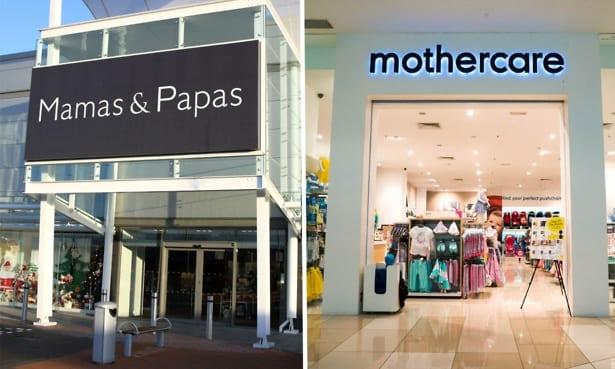 Mamas & Papas and Mothercare