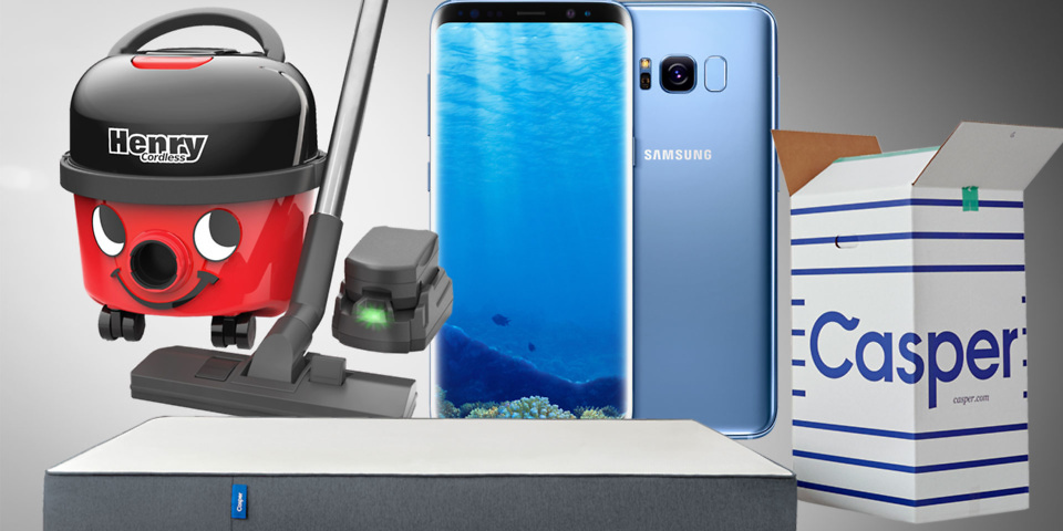 Top 10 most popular products on which.co.uk in May 2017