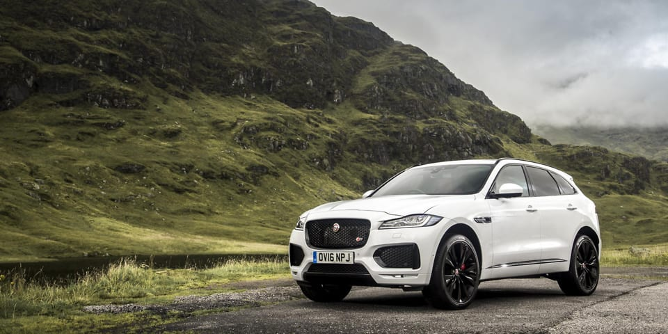 Jaguar's first SUV disappoints in Which? safety test