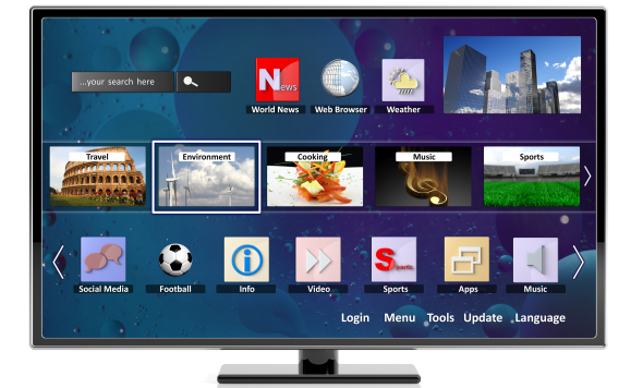 smart tv app stores go head to head which news. Black Bedroom Furniture Sets. Home Design Ideas