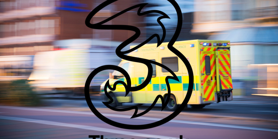 Mobile provider Three fined for 999 call failures
