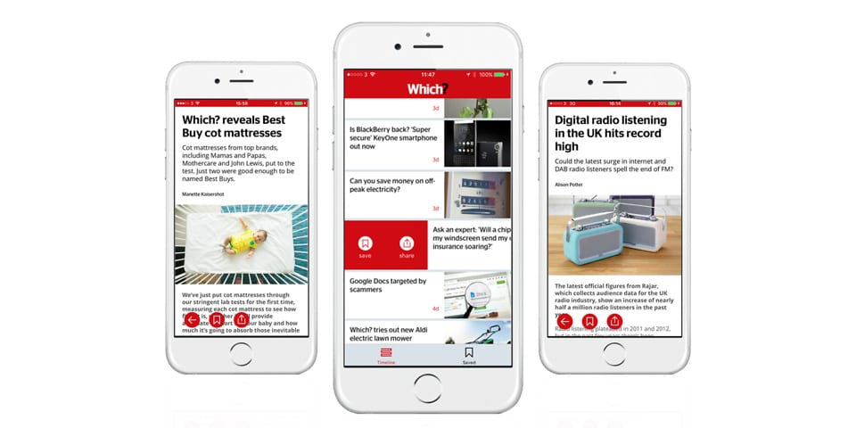 Which? News app