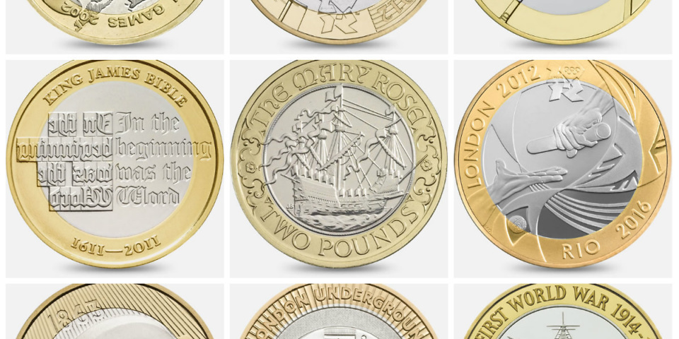 Revealed: The rarest and most valuable £2 coins – Which? News