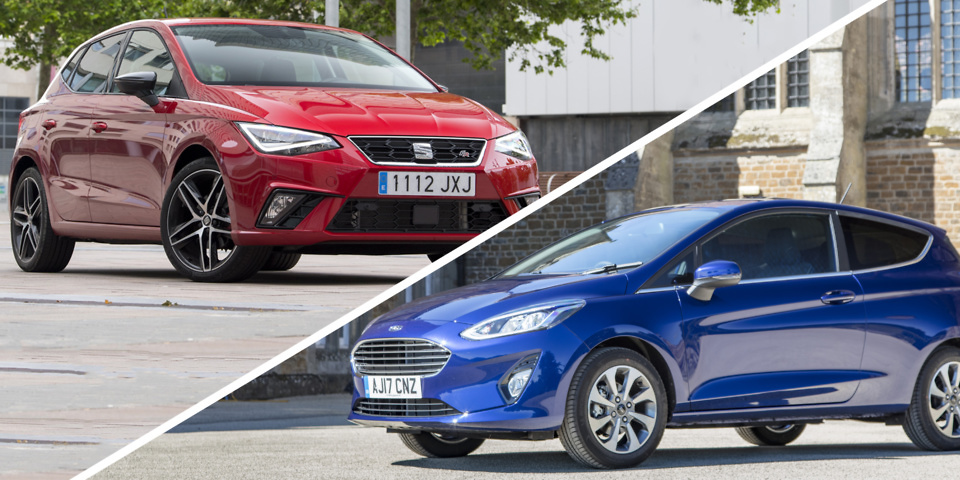Small car face-off: Ford Fiesta vs Seat Ibiza