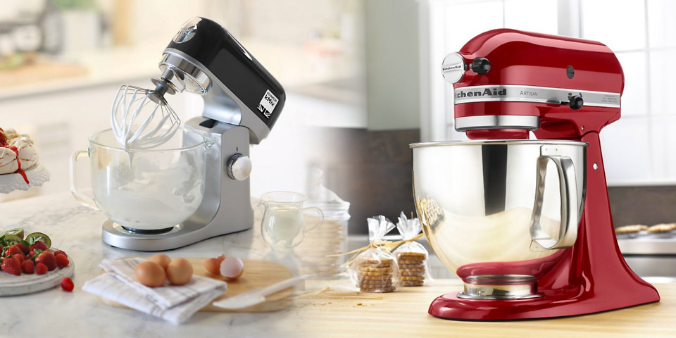 New Kenwood and KitchenAid mixers reviewed