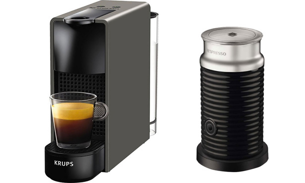 get a nespresso coffee machine for just 1 which news. Black Bedroom Furniture Sets. Home Design Ideas