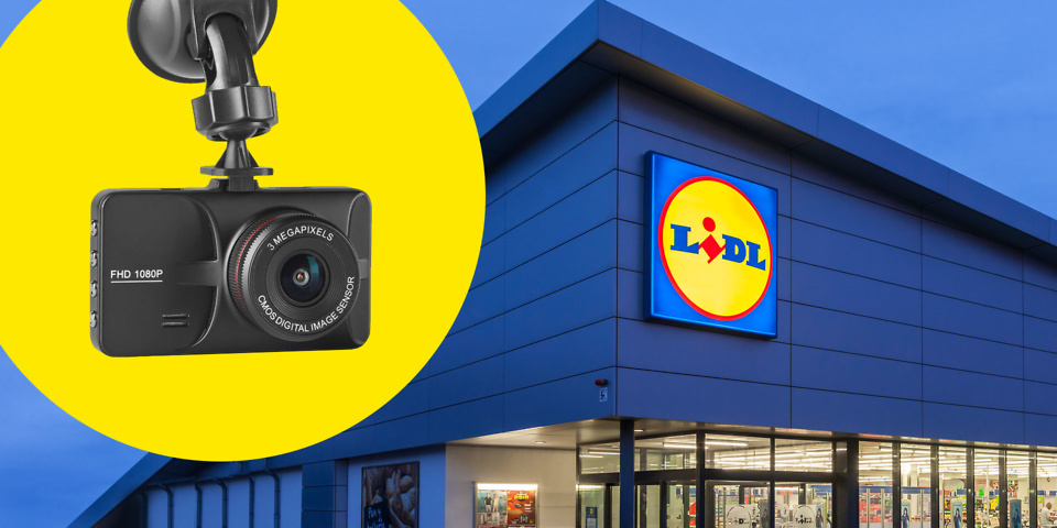 Lidl launches cheap £40 dash cam