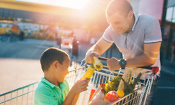 Which supermarket was cheapest in June 2017?