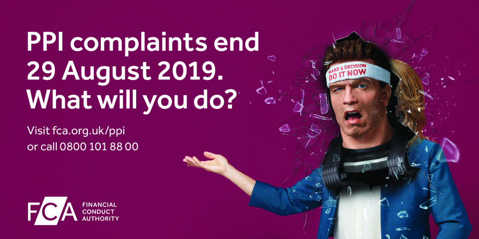 Arnold schwarzenegger fronts ppi campaign as two year deadline you have until 29 august 2019 to make a payment protection insurance complaint solutioingenieria Gallery