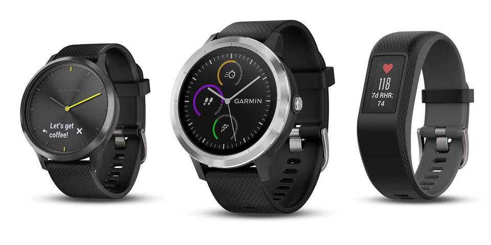 Garmin's trio of fitness wearables include the Vívomove HR hybrid smartwatch