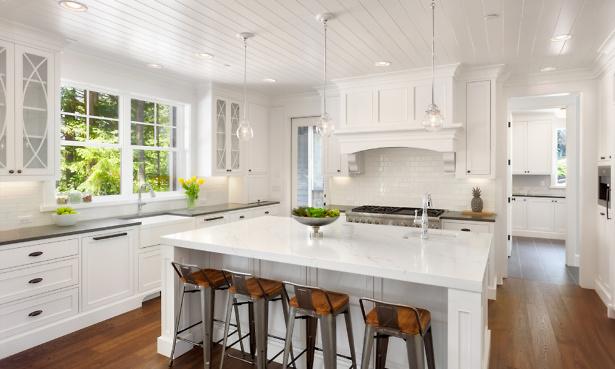 White modern kitchen