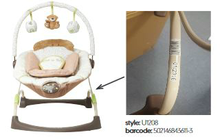 mothercare loved so much bouncer recall