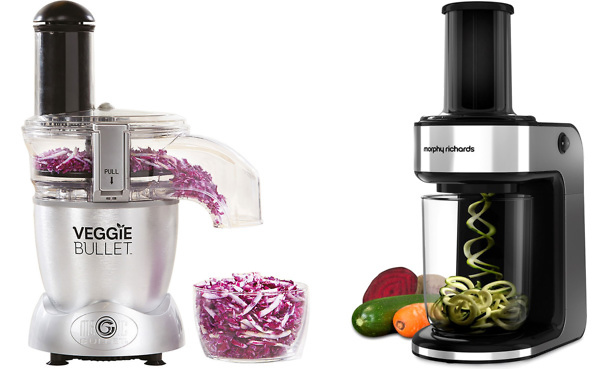 Veggie Bullet vs Electric Spiralizer