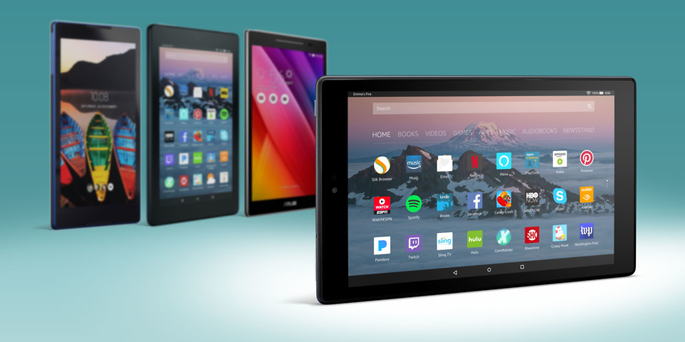 Amazon Fire HD 10 tablet launched at £150