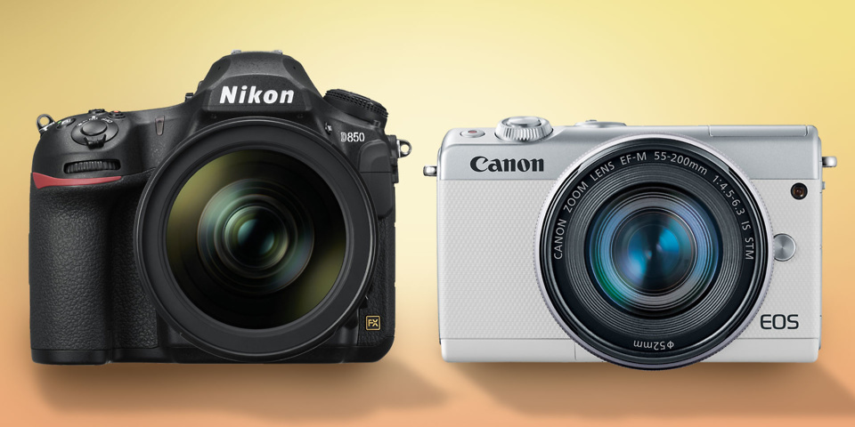 New Canon EOS mirrorless camera and Nikon D850 revealed