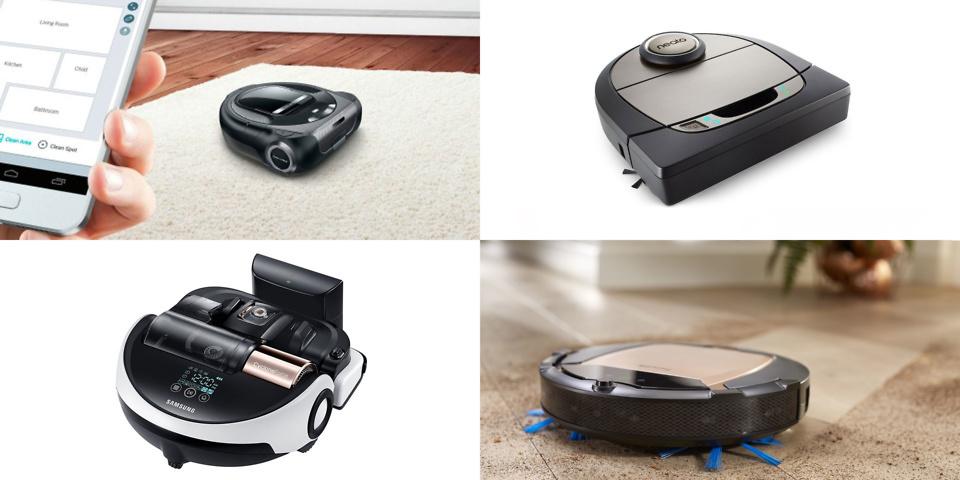 Robot vacuum cleaners