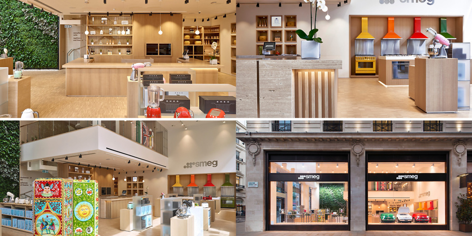 Smeg opens its first flagship store in London