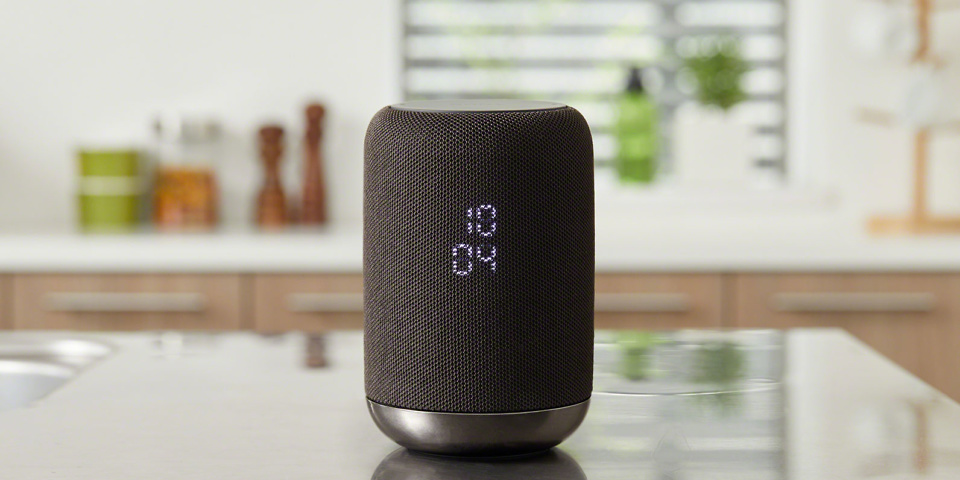 Sony LF-S50G speaker preview: Google Assistant in smart, subtle form