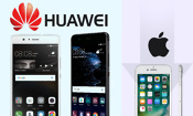Huawei edges past Apple for global smartphone sales