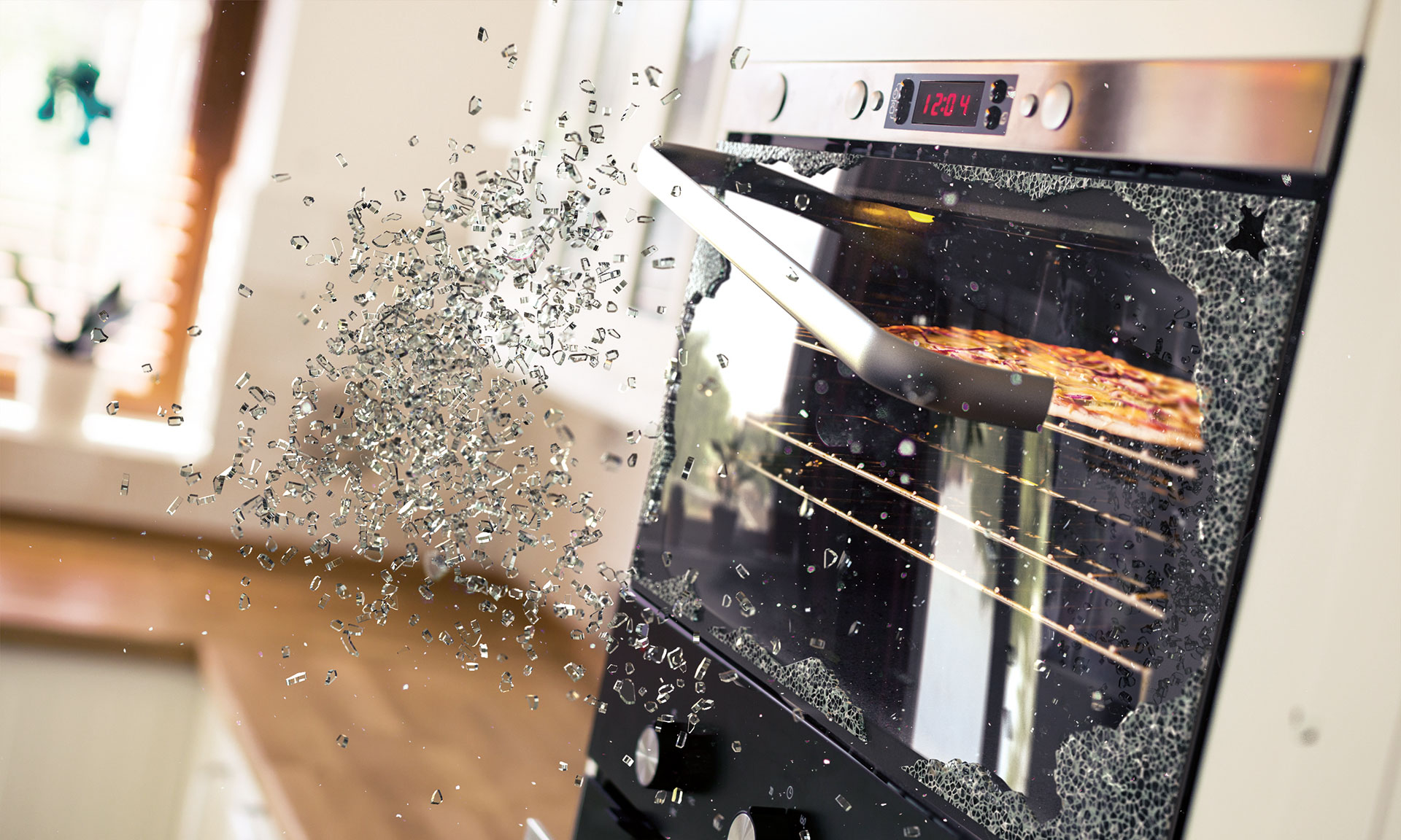 Exploding Ovens Why Glass Doors Shatter And What To Do It If Happens To You