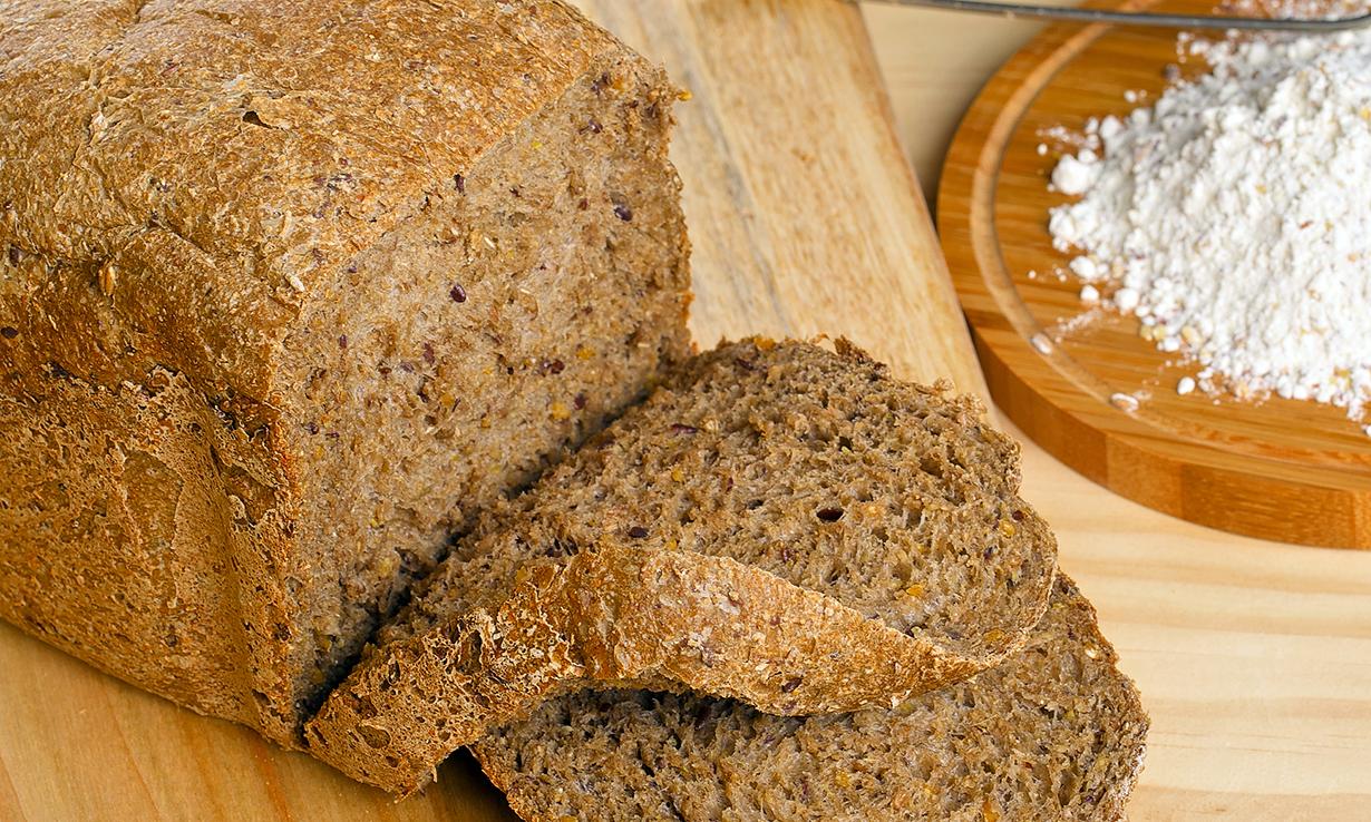 Gluten-free rye bread from bread maker