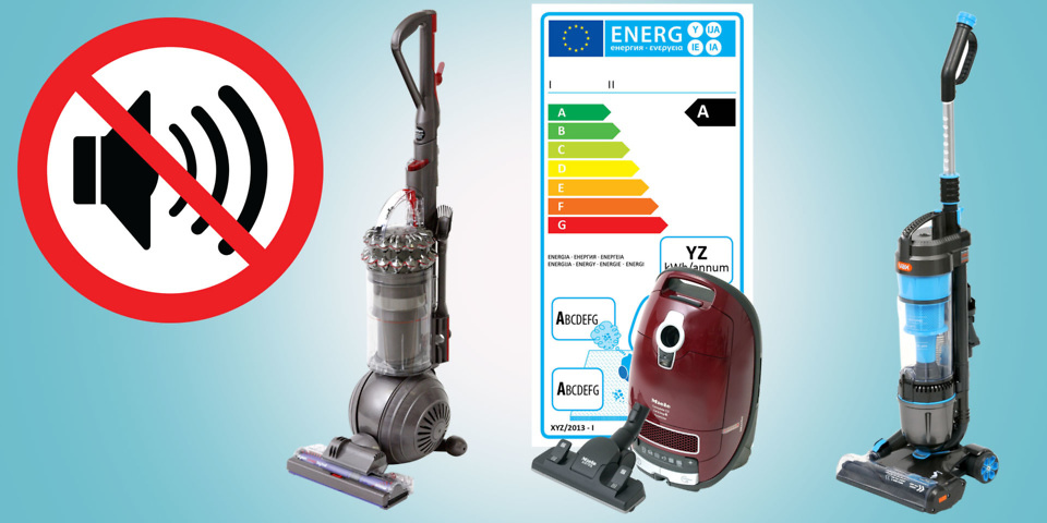 Vacuum cleaners banned under the new energy label