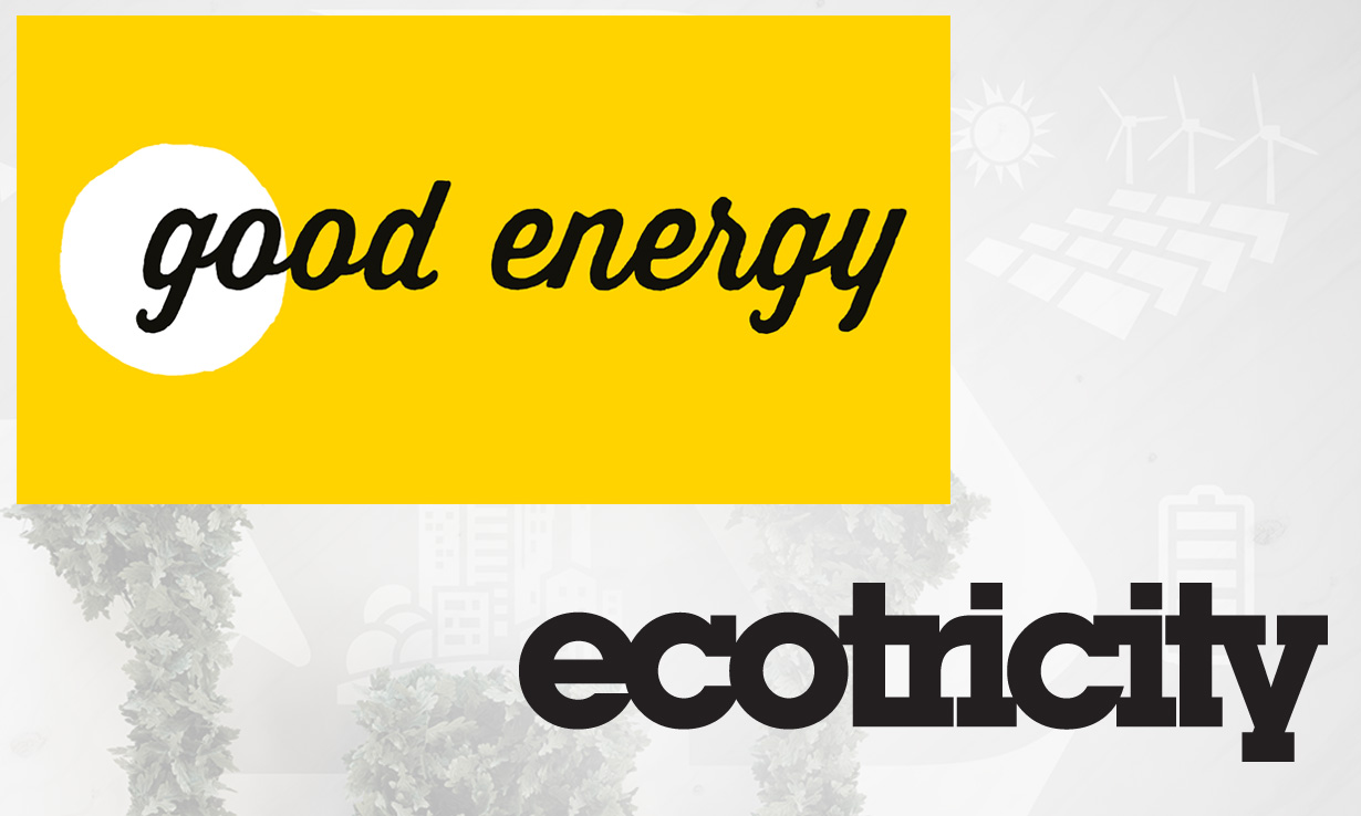 Good Energy and Ecotricity logos
