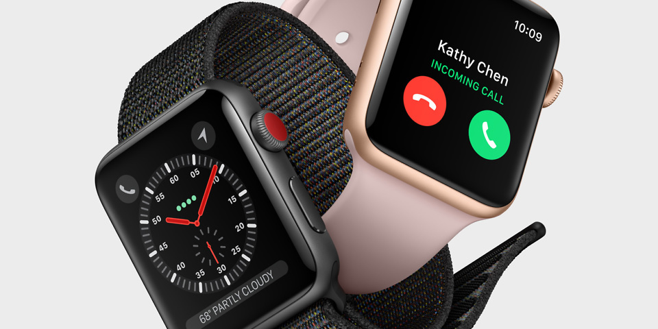 Apple Watch 3 Series with LTE and Heart
