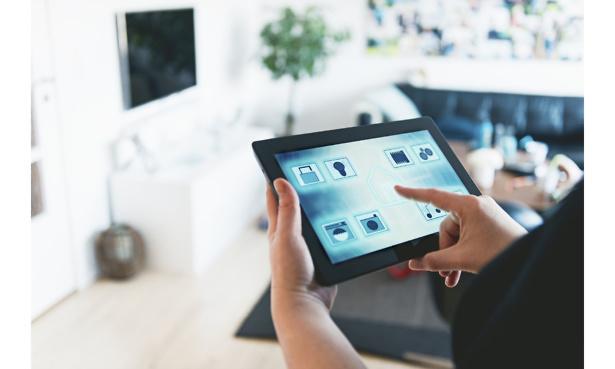 A smart home app