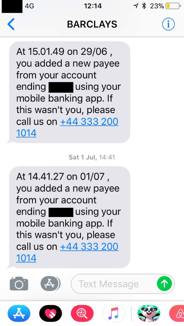 How text message scammers pose as banks to rip you off