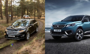 SUV face-off: Ford Edge vs Peugeot 5008
