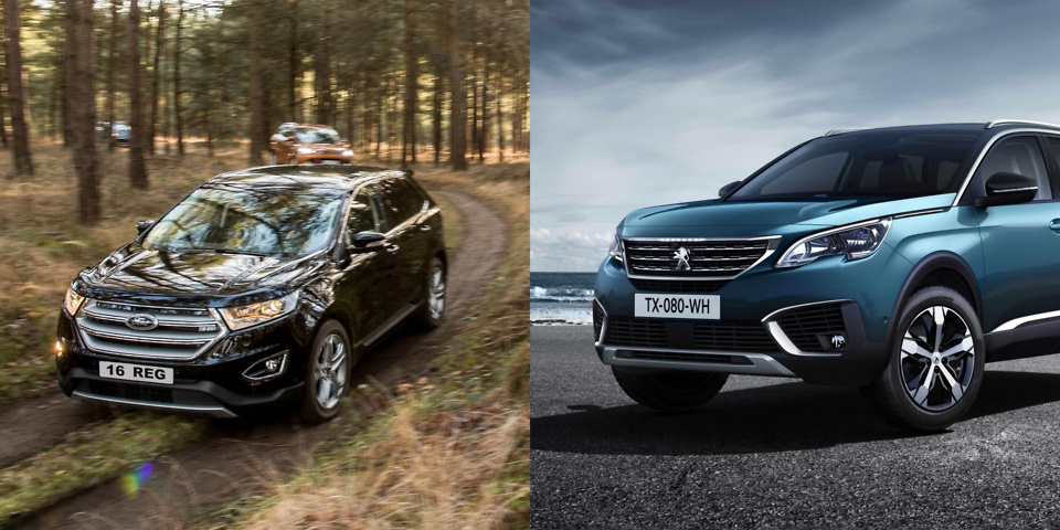 suv face off ford edge vs peugeot 5008 which news. Black Bedroom Furniture Sets. Home Design Ideas