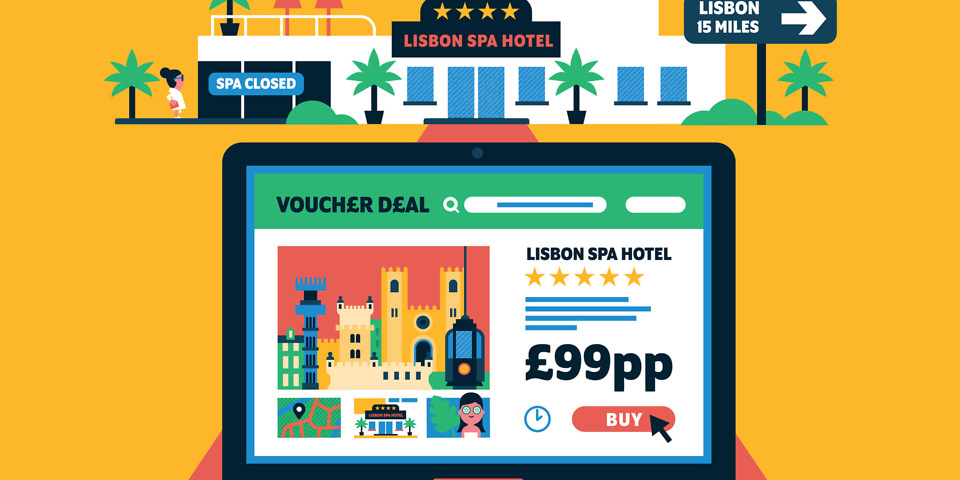 Holiday vouchers are too good to be true which news we find deal sites groupon livingsocial and wowcher advertising low price breaks that no longer exist fandeluxe Images