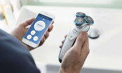 Philips Smart Shaver with app open