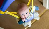 Baby door bouncer least useful product