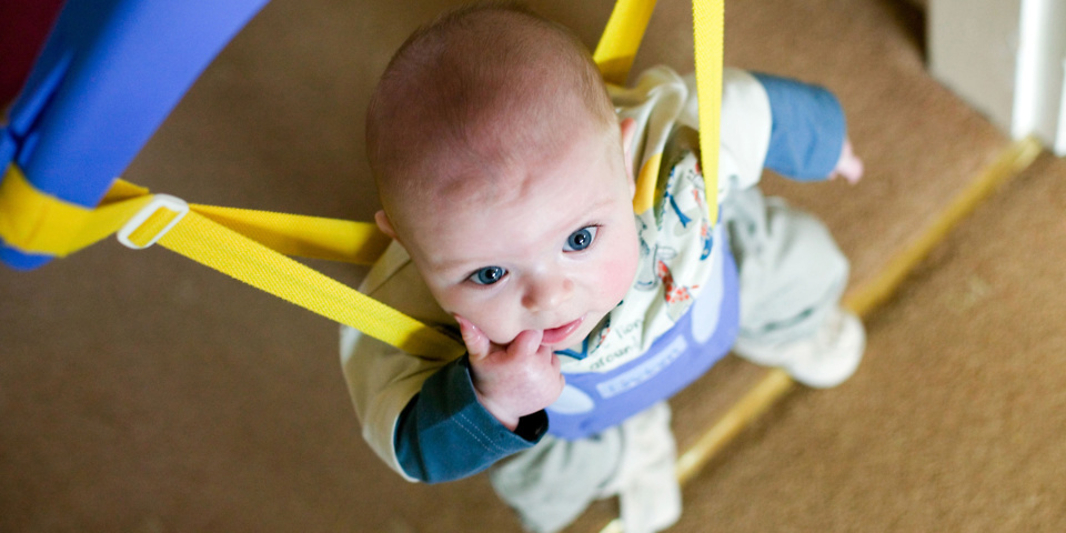 Baby door bouncer least useful product