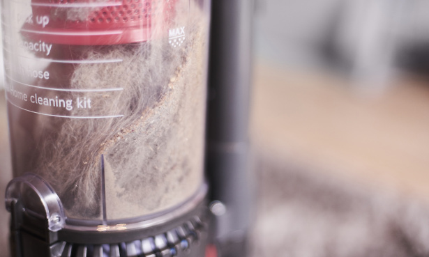 Bagless vacuum cleaners allergy claims