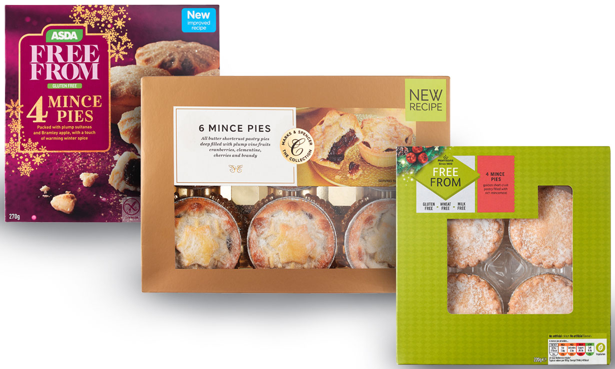 Which? /p pBest Buy traditional and gluten free mince pies