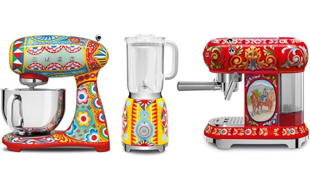 Smeg launches Dolce & Gabbana kettles